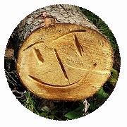Baumscheiben-Smiley