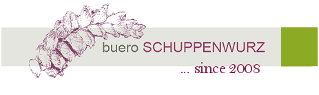 Logo buero SCHUPPENWURZ
